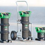 tere diverse macchine per la pulizia con acqua demineralizzata